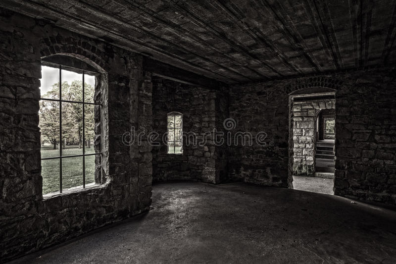 Inside Squire's Castle royalty free stock images