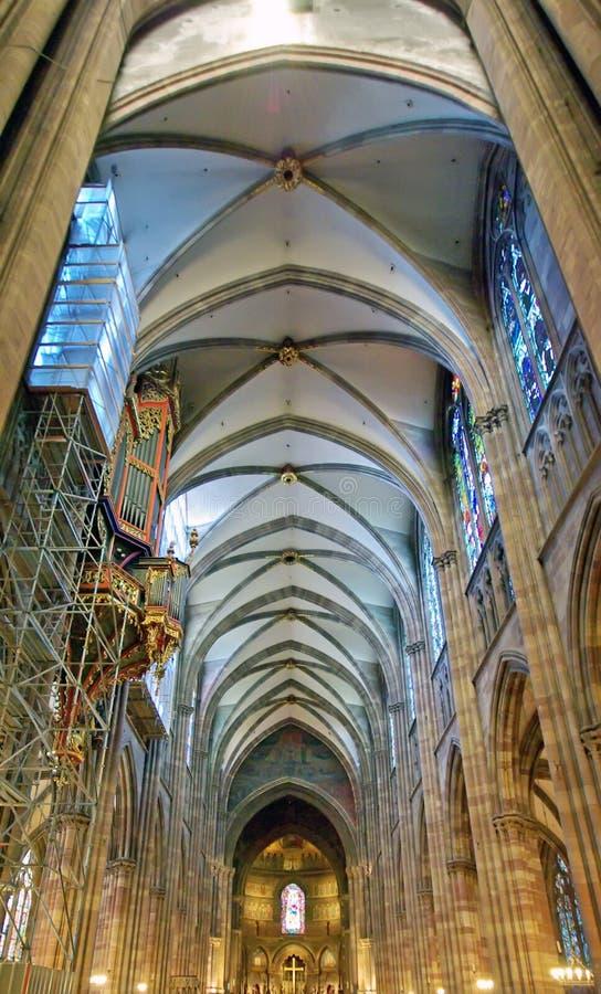 Download Inside Strasbourg Cathedral Stock Image - Image: 12964709
