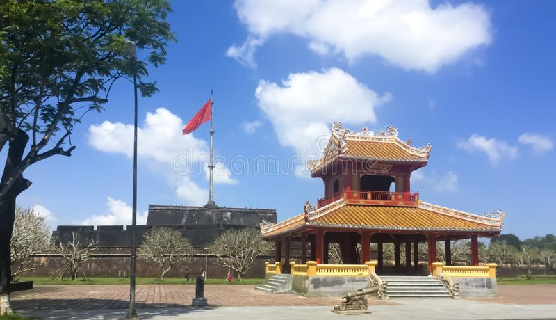 Hue imperial city stock image