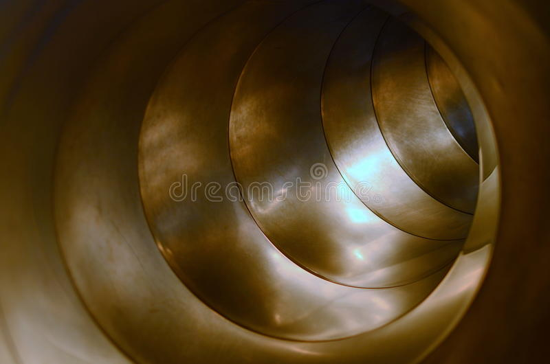 Inside tubka obraz stock
