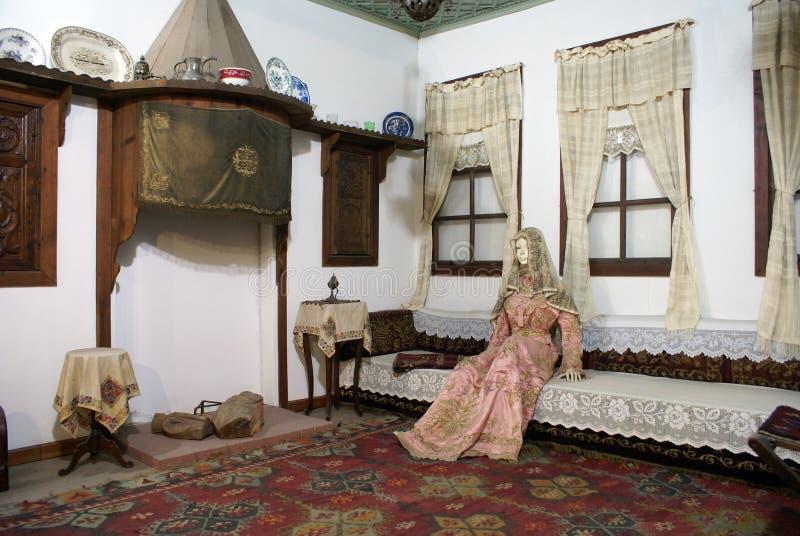 Inside turkish house royalty free stock image