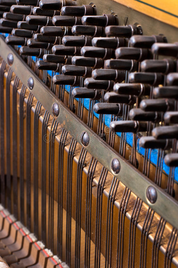 Download Close Up Of Old Inside Element Piano Royalty Free Stock Photo - Image: 30313875