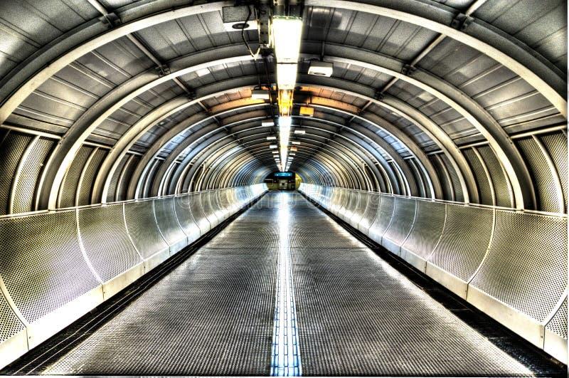 HDR Sao Paulo metro station royalty free stock photography