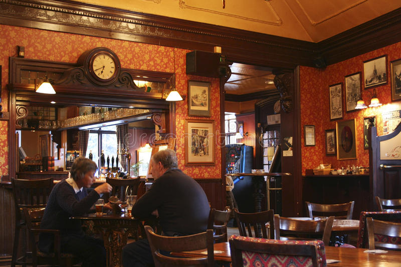 Download Inside View Of A English Pub Editorial Image - Image: 23873420