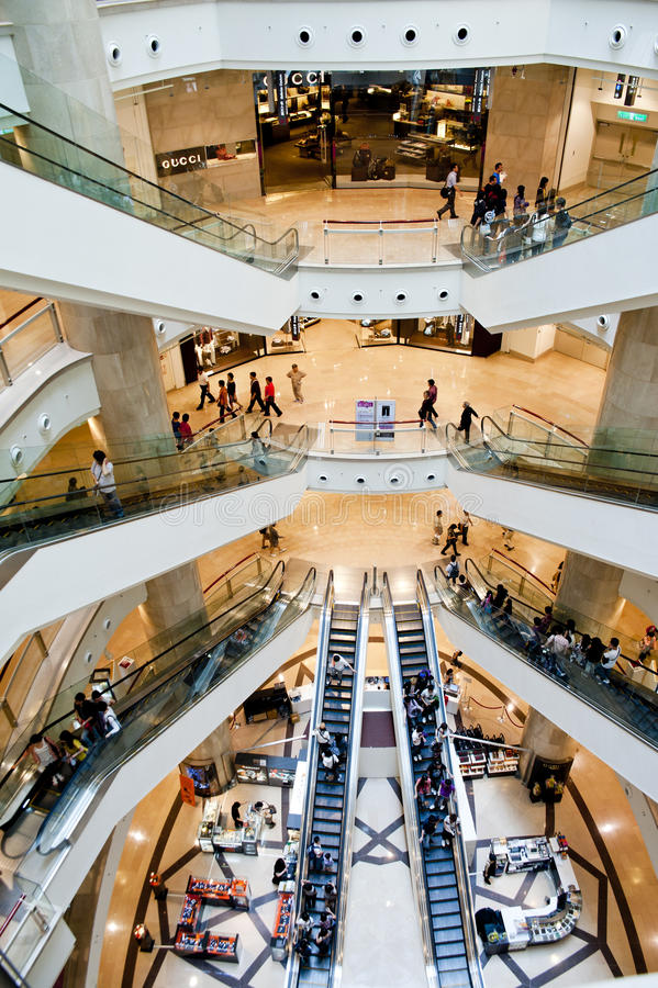 Free Inside View Of Taipei 101 Stock Images - 19611864