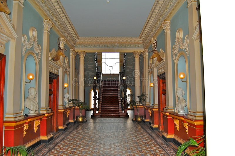 Inside Werribee Mansion stock photography