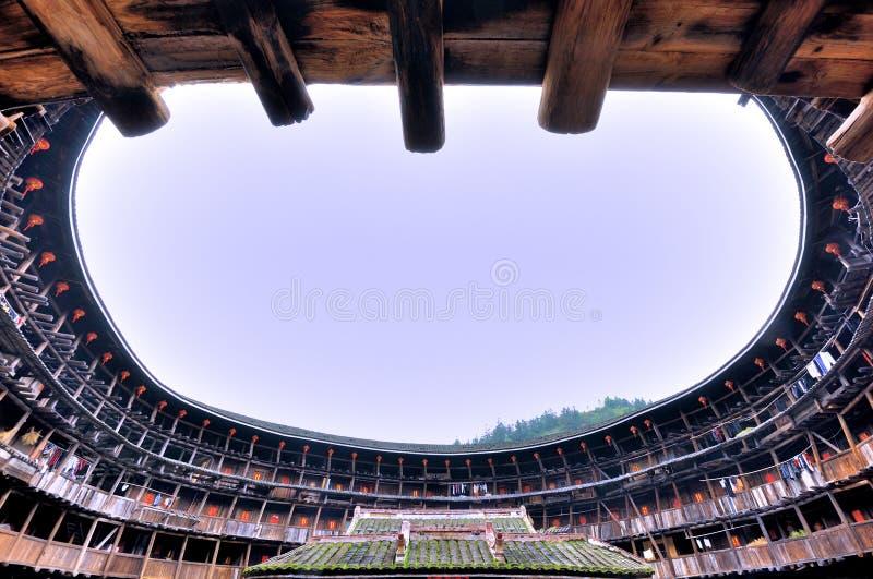 Download Inside Ziemia Kasztel, Opisywana Siedziba W Południe Chiny Obraz Stock Editorial - Obraz: 30579964
