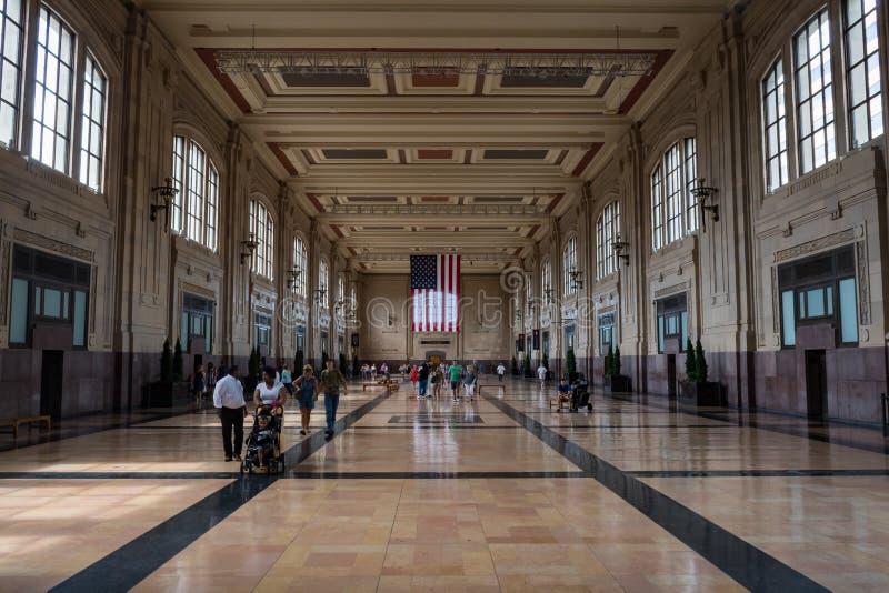 Inside zjednoczenie stacja w Kansas City Missouri obraz stock