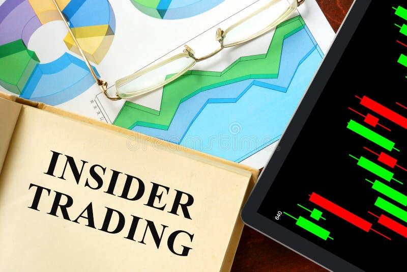 Insider Handel stock foto