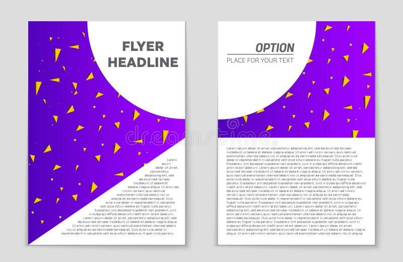 Insieme astratto del fondo della disposizione Per progettazione del modello di arte, lista, pagina anteriore, stile di tema dell' illustrazione di stock