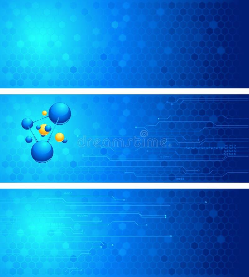 Insieme degli ambiti di provenienza di scienza illustrazione vettoriale
