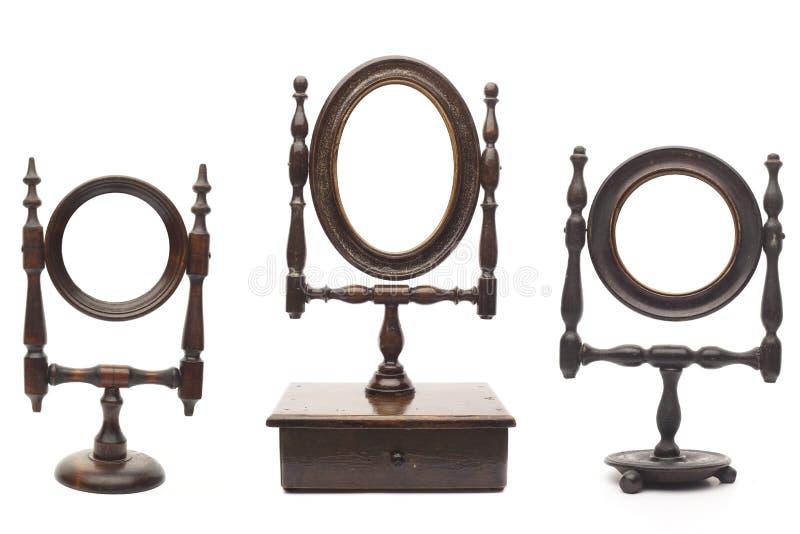 Insieme Degli Specchi Antichi Immagine Stock - Immagine di ...