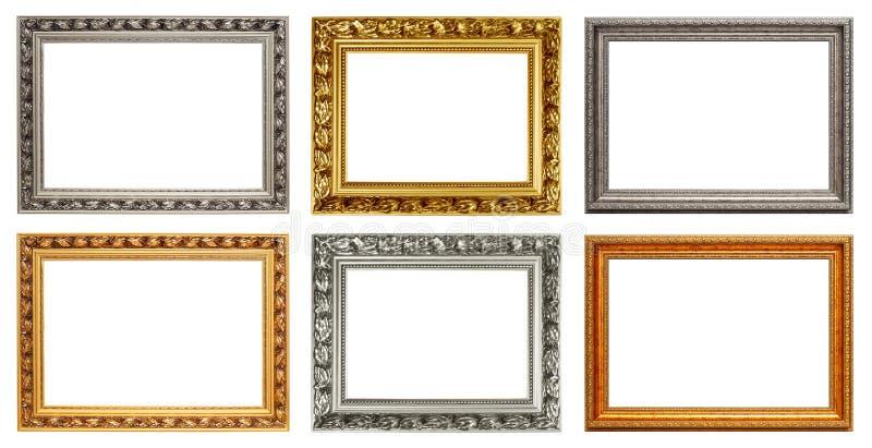 Insieme dei telai di arte dell'annata immagine stock