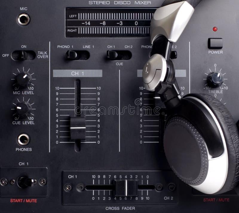 Insieme del DJ immagini stock