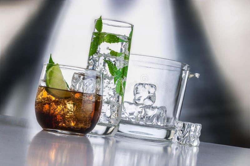 Insieme del liquore immagine stock libera da diritti