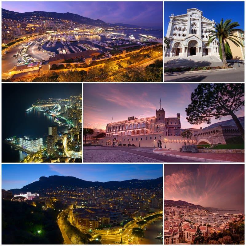 Insieme del Monaco Monte Carlo fotografia stock libera da diritti