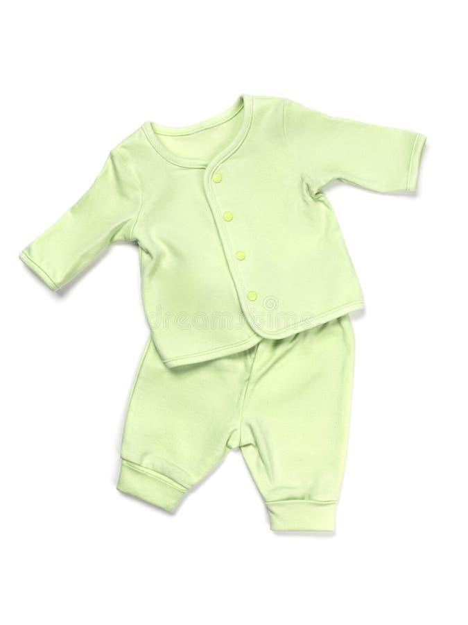 Insieme del pigiama del bambino fotografia stock