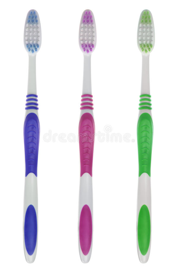 Insieme del Toothbrush fotografie stock