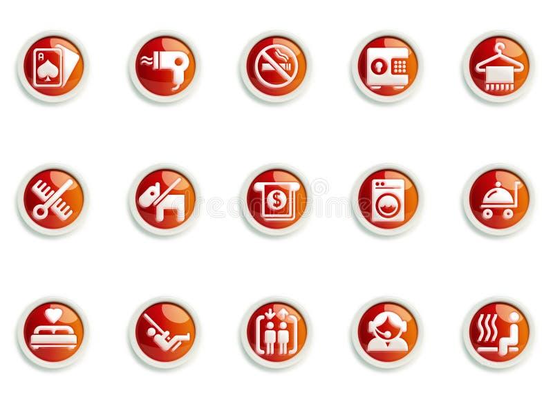 Insieme dell'icona immagine stock libera da diritti