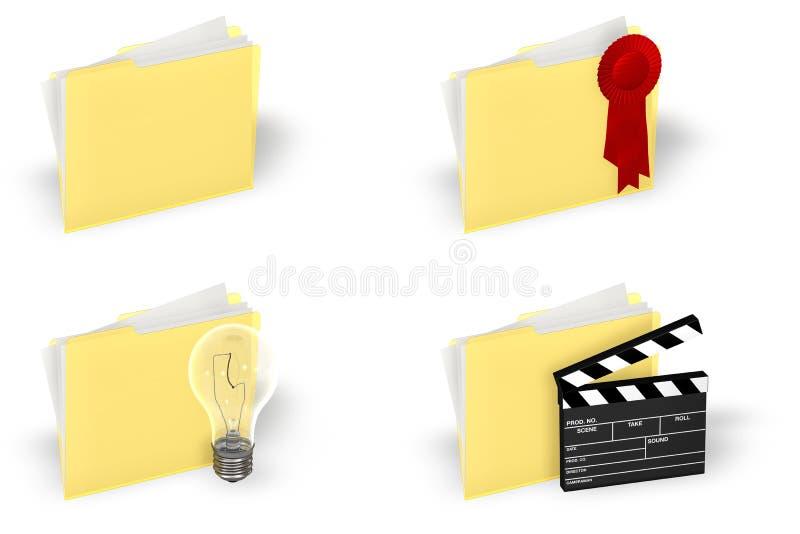 Download Insieme Dell'icona Del Dispositivo Di Piegatura Illustrazione di Stock - Illustrazione di valvola, pictogram: 3135099