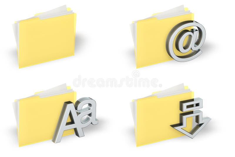 Download Insieme Dell'icona Del Dispositivo Di Piegatura Illustrazione di Stock - Illustrazione di simbolo, background: 3135112