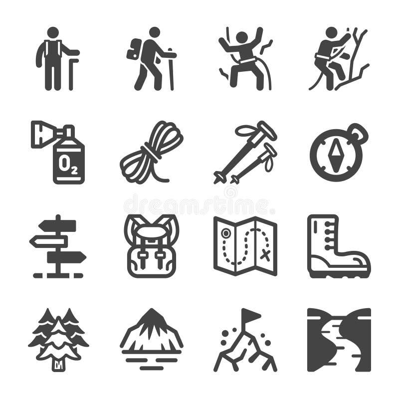 Insieme dell'icona di aumento illustrazione vettoriale