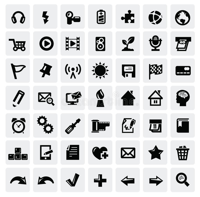 Insieme dell'icona di Web