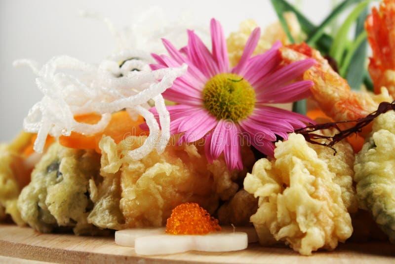 Insieme della tempura fotografia stock libera da diritti