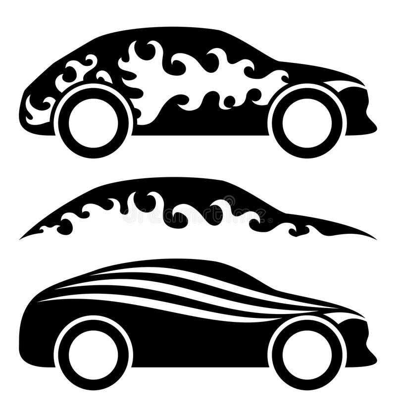 Download Insieme delle automobili illustrazione vettoriale. Illustrazione di elementi - 56891069