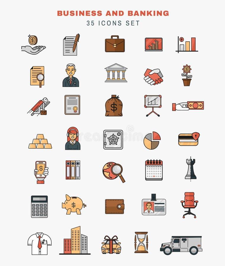 Insieme delle icone di vettore ed elementi di sviluppo di applicazioni royalty illustrazione gratis