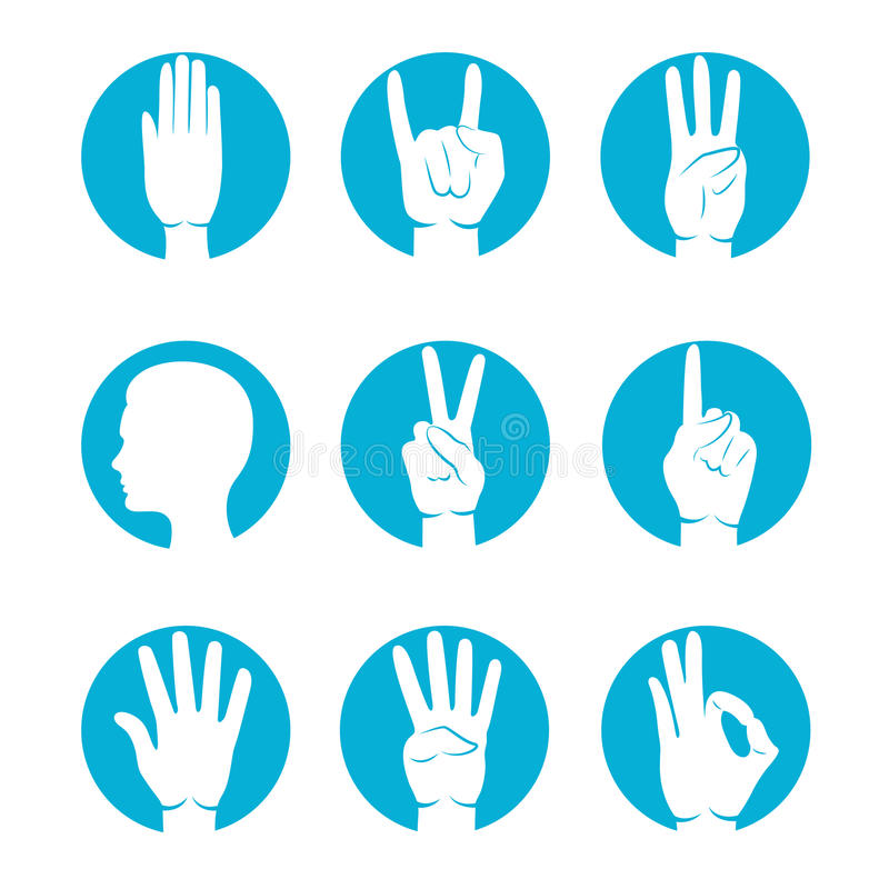 Insieme delle icone di Web illustrazione di stock