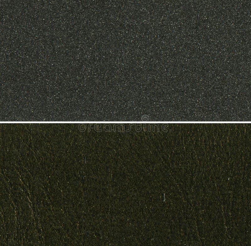 Insieme delle strutture nere immagini stock