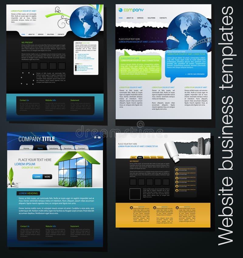 Insieme di disegno di Web illustrazione vettoriale