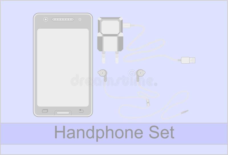 Insieme di Handphone immagine stock