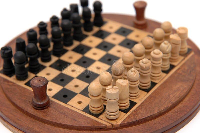 Insieme di scacchi 2 fotografie stock libere da diritti