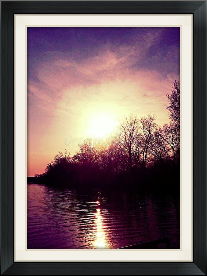 Insieme di Sun fotografie stock libere da diritti