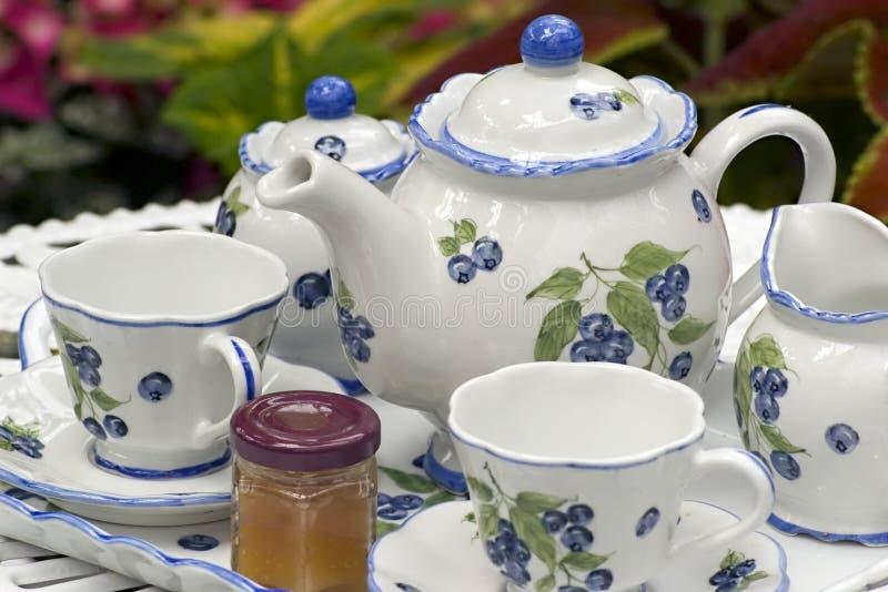 Insieme di tè fotografia stock