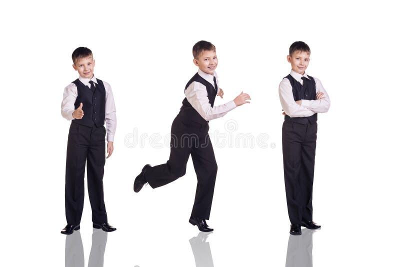 Insieme integrale di un ragazzo in vestito immagine stock