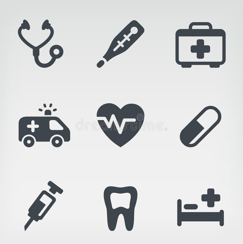 Insieme medico dell'icona royalty illustrazione gratis