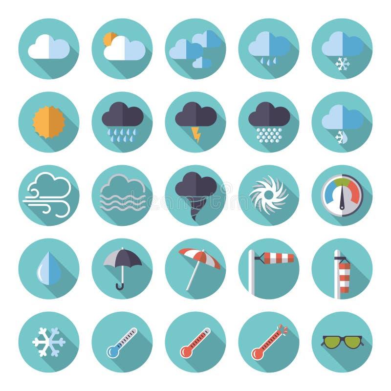 Insieme piano dell'icona di progettazione del tempo royalty illustrazione gratis