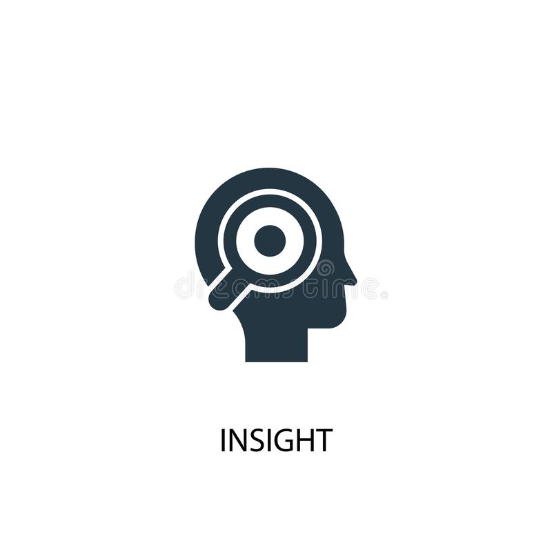 Insight icon. Simple element vector illustration