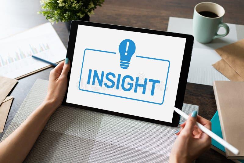 Insight on screen. Business Finance Technology Internet Concept. Insight on screen. Business Finance Technology Internet Concept stock photography