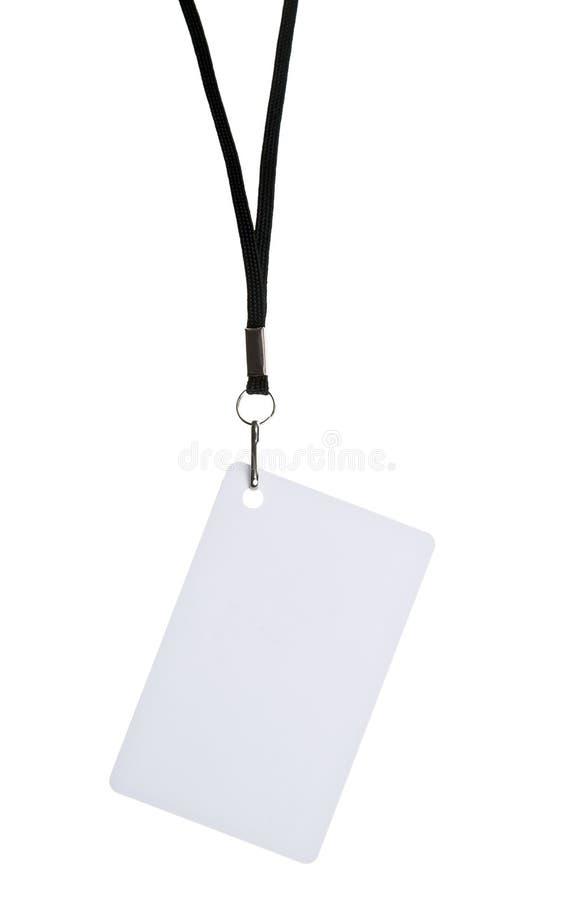 Insigne blanc photos libres de droits