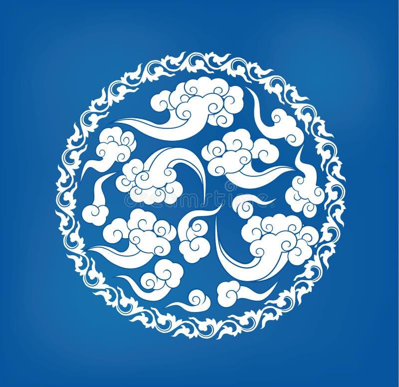 Insigne chinois illustration libre de droits