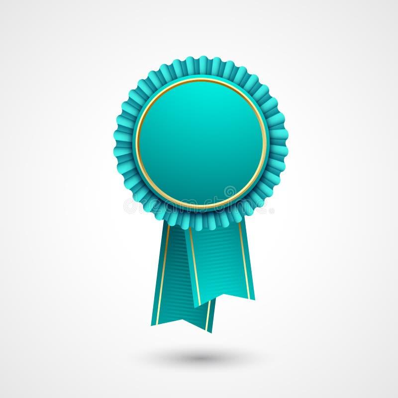 Download Insigne De Bleu Et D'or Avec Des Rubans Récompense, Vecteur Illustration de Vecteur - Illustration du concurrence, prix: 56487989