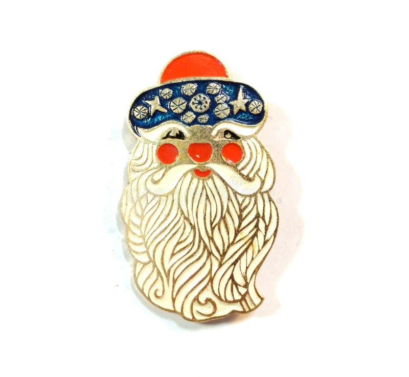 Insigne de Ded Moroz Ussr images stock