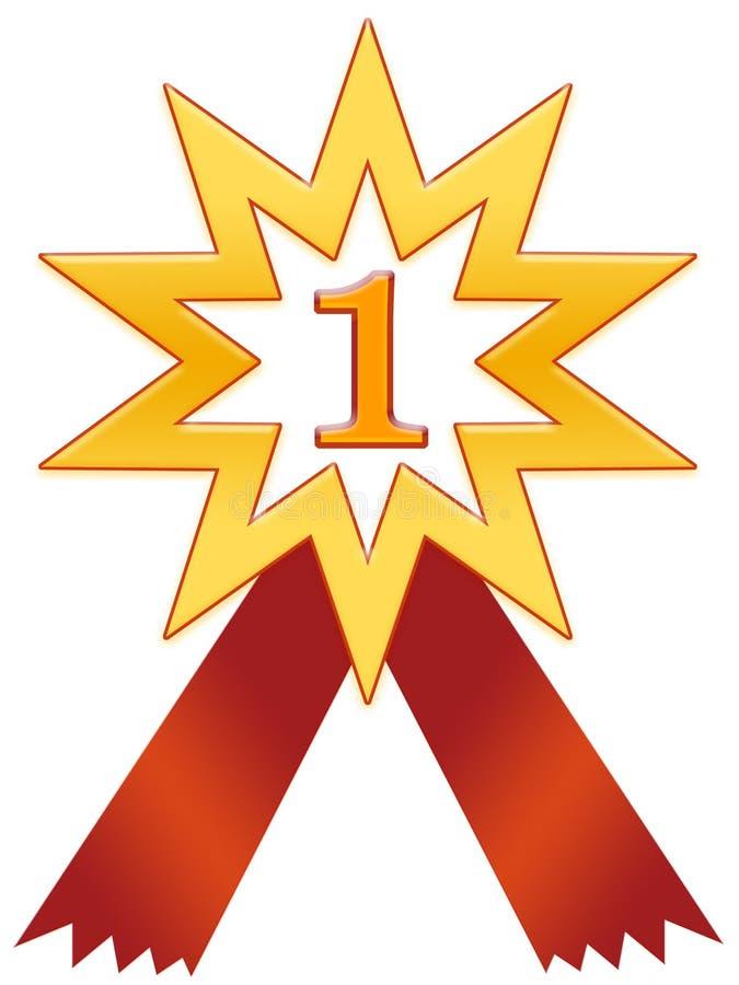 Insigne De L étoile 1 Photos libres de droits