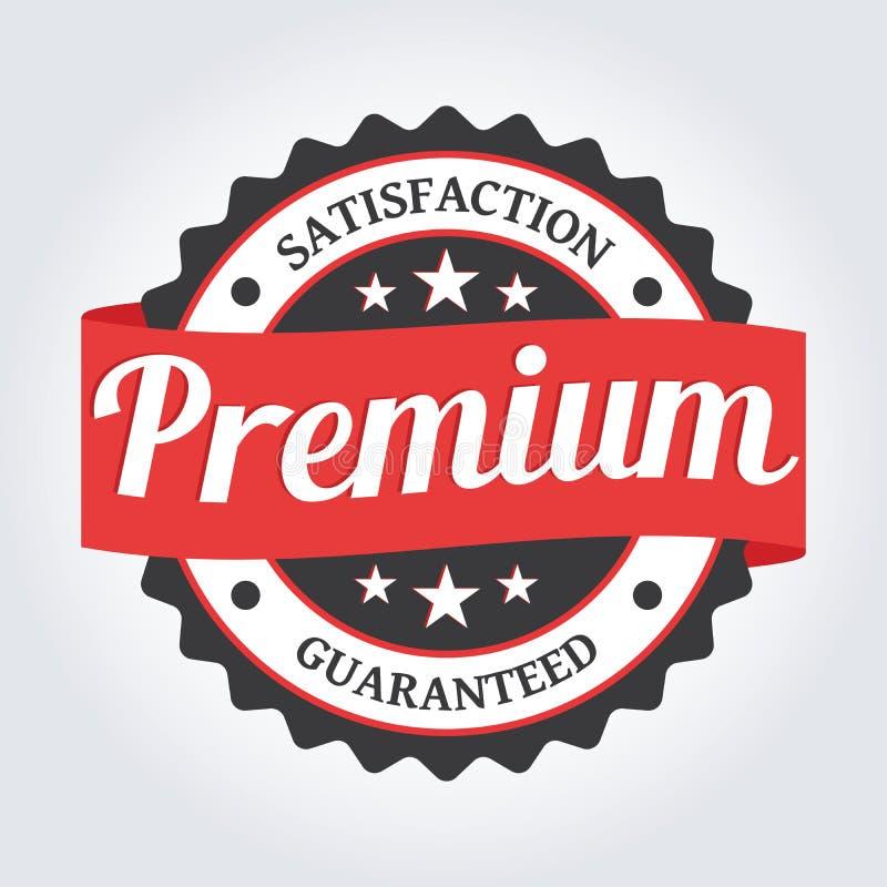 Insigne de la meilleure qualité de label de commerce avec le produit de la meilleure qualité d'étoiles photo libre de droits