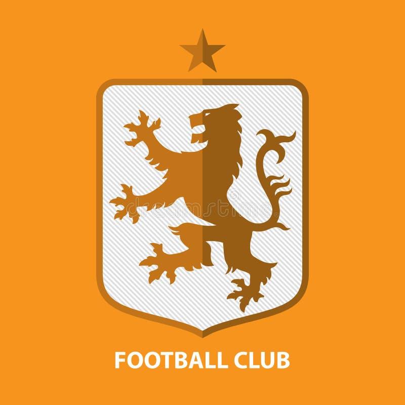 Insigne Logo Design Template du football du football Identité d'équipe de sport illustration libre de droits
