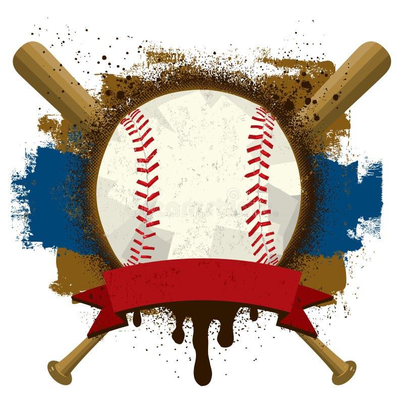 Insignes de base-ball illustration libre de droits